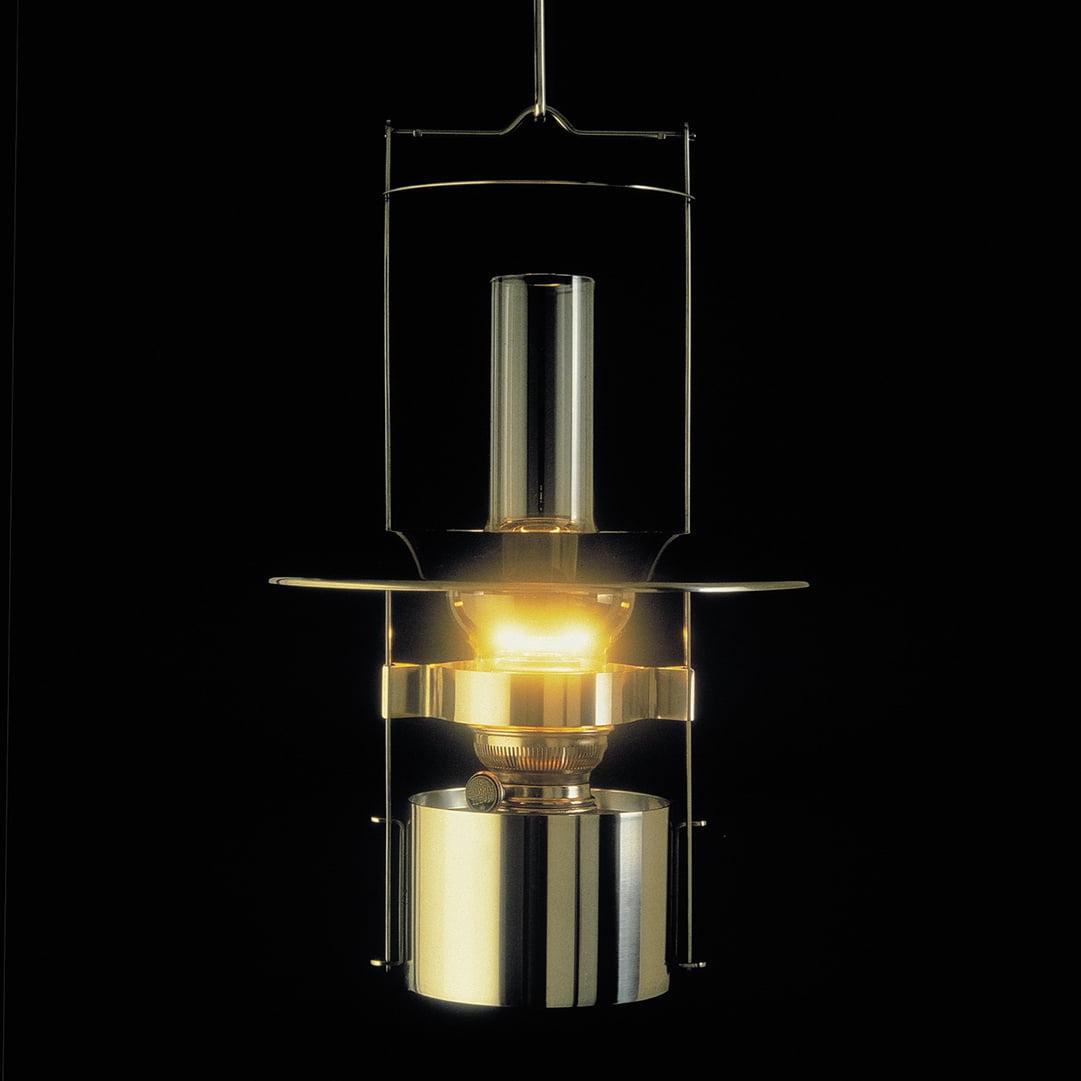 Steel kerosene lamps